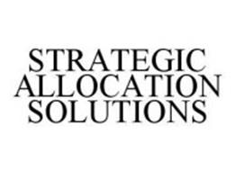 STRATEGIC ALLOCATION SOLUTIONS