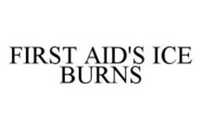 FIRST AID'S ICE BURNS