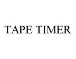 TAPE TIMER