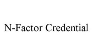 N-FACTOR CREDENTIAL