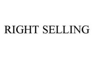 RIGHT SELLING