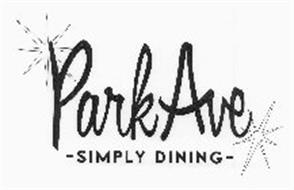 PARK AVE - SIMPLY DINING -