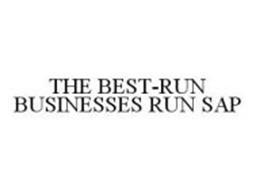 THE BEST-RUN BUSINESSES RUN SAP