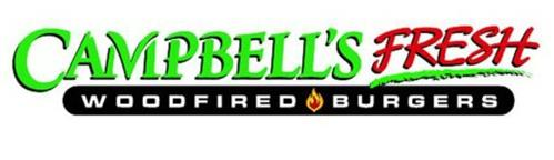 CAMPBELL'S FRESH WOODFIRED BURGERS
