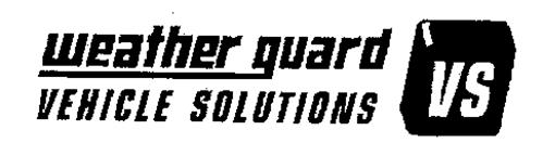 WEATHER GUARD VEHICLE SOLUTIONS VS