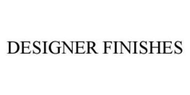 DESIGNER FINISHES
