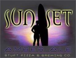 SUNSET AMBER ALE STUFT PIZZA & BREWING CO.