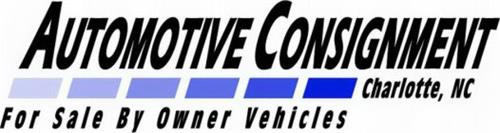 AUTOMOTIVE CONSIGNMENT CHARLOTTE, NC FOR SALE BY OWNER VEHICLES