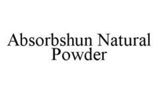 ABSORBSHUN NATURAL POWDER