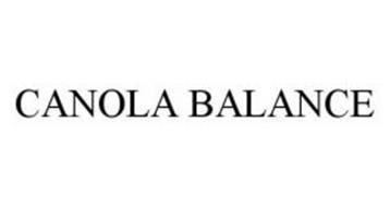 CANOLA BALANCE