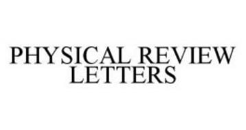 physical review letters the american physical society trademarks 21 from 499