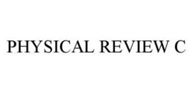 PHYSICAL REVIEW C
