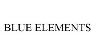 BLUE ELEMENTS