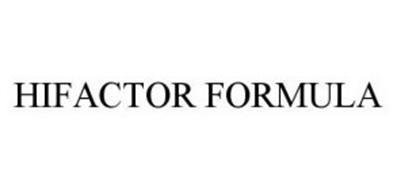HIFACTOR FORMULA