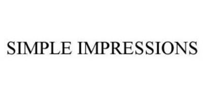SIMPLE IMPRESSIONS