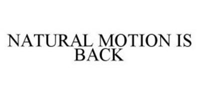 NATURAL MOTION IS BACK