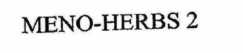 MENO-HERBS 2