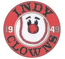 INDY CLOWNS 1949