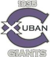 1935 X CUBAN GIANTS
