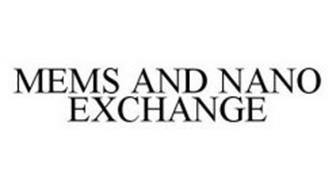 MEMS AND NANO EXCHANGE