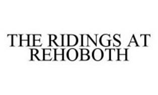 THE RIDINGS AT REHOBOTH