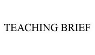 TEACHING BRIEF