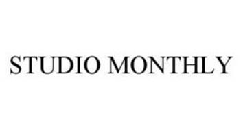 STUDIO MONTHLY