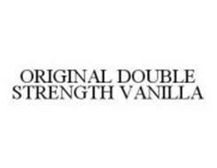ORIGINAL DOUBLE STRENGTH VANILLA