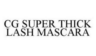 CG SUPER THICK LASH MASCARA