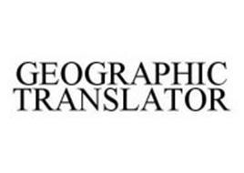 GEOGRAPHIC TRANSLATOR