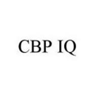 CBP IQ
