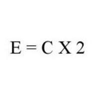 E = C X 2