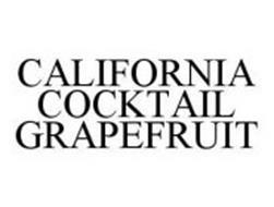 CALIFORNIA COCKTAIL GRAPEFRUIT