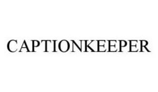 CAPTIONKEEPER