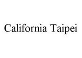 CALIFORNIA TAIPEI