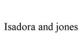 ISADORA AND JONES