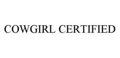 COWGIRL CERTIFIED