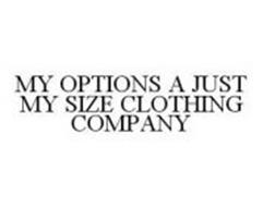 MY OPTIONS A JUST MY SIZE CLOTHING COMPANY