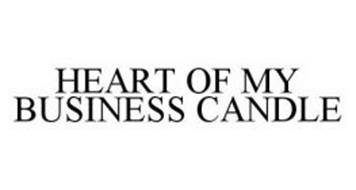 HEART OF MY BUSINESS CANDLE