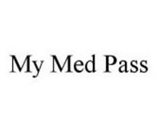 MY MED PASS