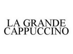 LA GRANDE CAPPUCCINO