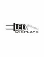 LED'S (NOT NEON) DISPLAYS