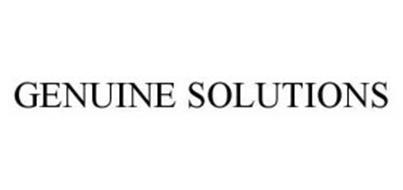 GENUINE SOLUTIONS