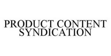 PRODUCT CONTENT SYNDICATION