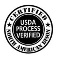 CERTIFIED NORTH AMERICAN BISON USDA PROCESS VERIFIED