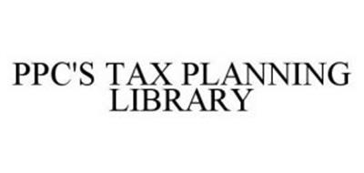 PPC'S TAX PLANNING LIBRARY