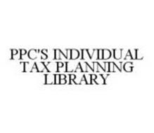 PPC'S INDIVIDUAL TAX PLANNING LIBRARY