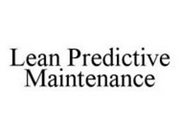 LEAN PREDICTIVE MAINTENANCE