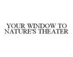 YOUR WINDOW TO NATURE'S THEATER