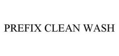 PREFIX CLEAN WASH